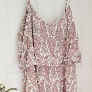 Pretty in pink paisley sundress